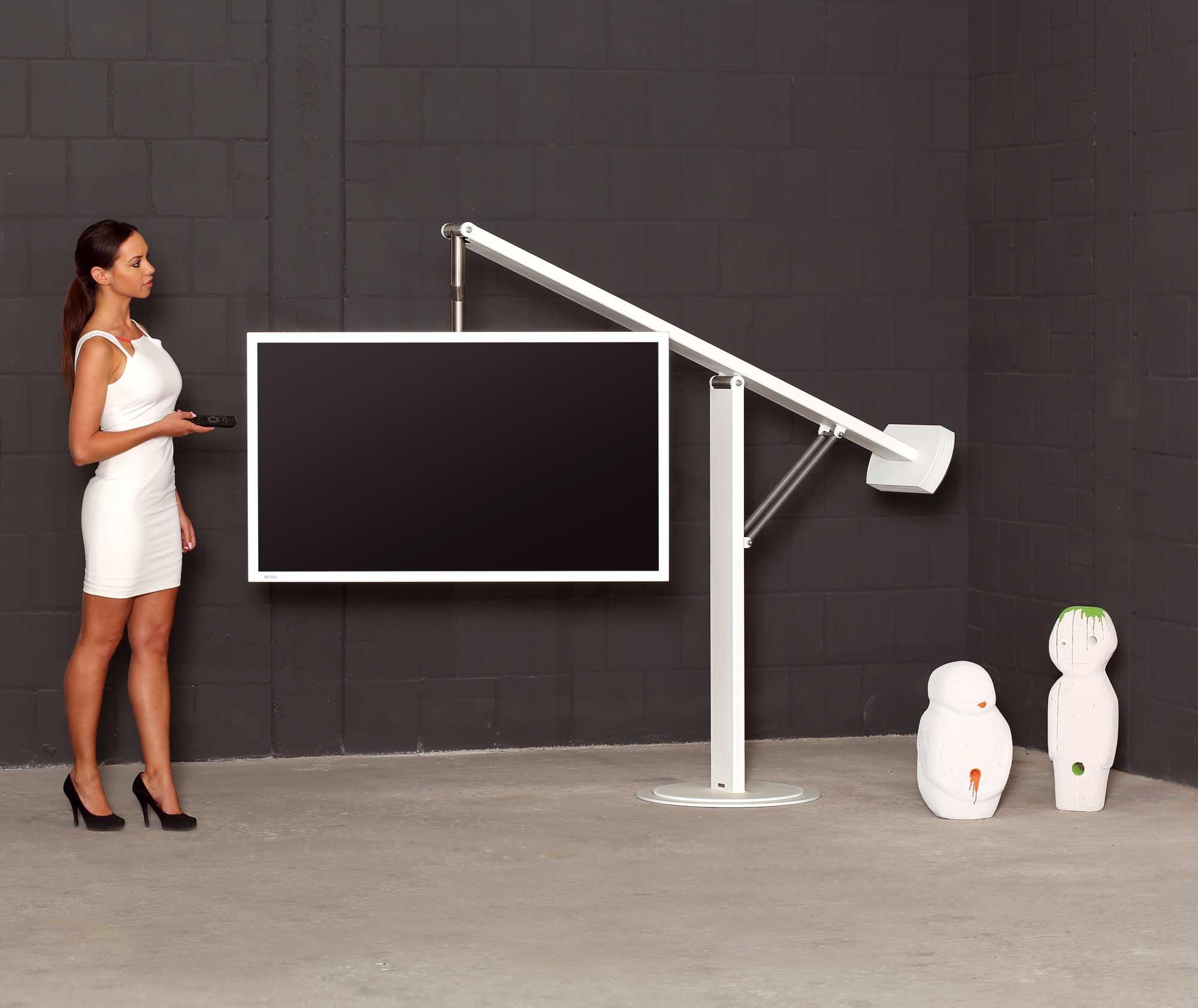 wissmann tv halter von ihrem spezialist design objekte. Black Bedroom Furniture Sets. Home Design Ideas